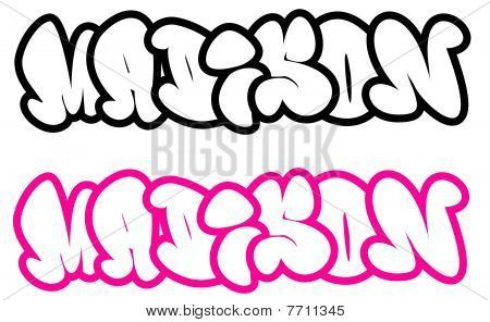 Madison in Graffiti Letters | the name Madison in graffiti ...