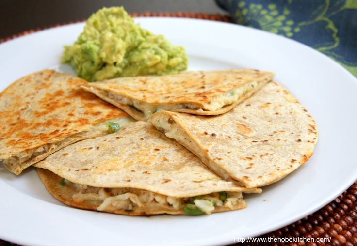 Crab Quesadilla - text