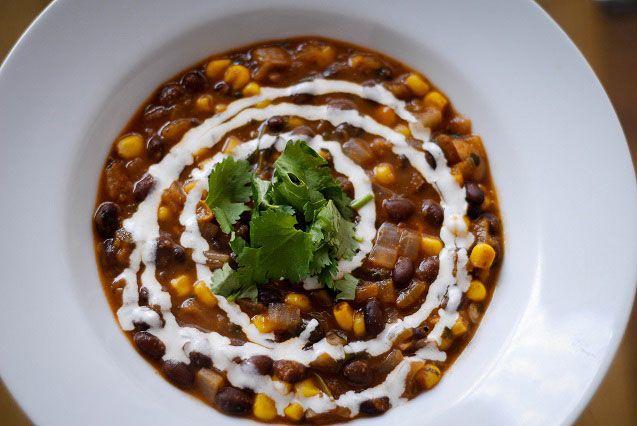 Spicy Black Bean Soup | Shape-Up | Pinterest