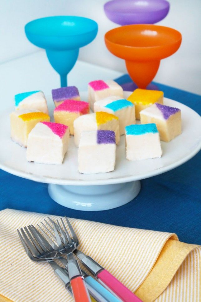 Make Easy Color-Blocked Petit Fours With Only 5 Ingredients! | Brit ...