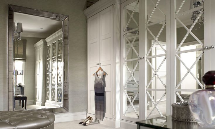 Happily Barefoot Updating Bi Fold Mirrored Doors