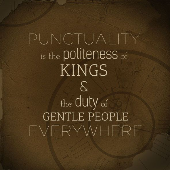 "importance of punctuality in our life Similar to politeness, punctuality is an important quality when it comes to  ""few  things tend more to alienate friendship than a want of punctuality in our  being  punctual is usually beneficial in everyday life, and when accompanied by."