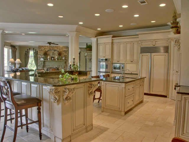 Gourmet kitchen for the home pinterest Gourmet kitchen plans
