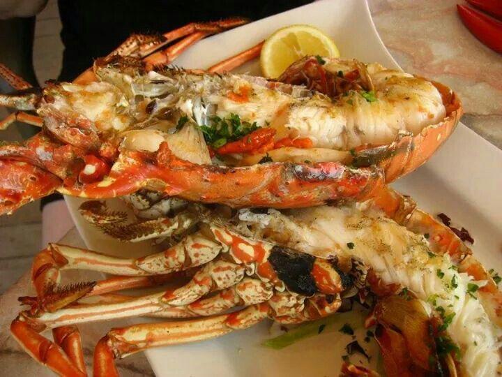Grilled Spiny Lobster | Seafood | Pinterest