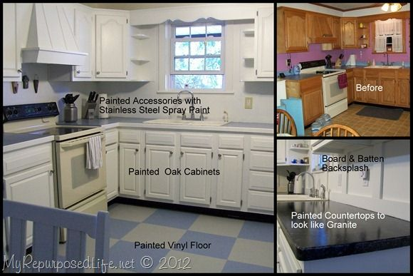 How To Paint Oak Cabinets More Home Decor Crafts