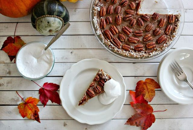 Source: Pie With Coconut Maple Whipped Cream - Just In Time For Thanksgiving