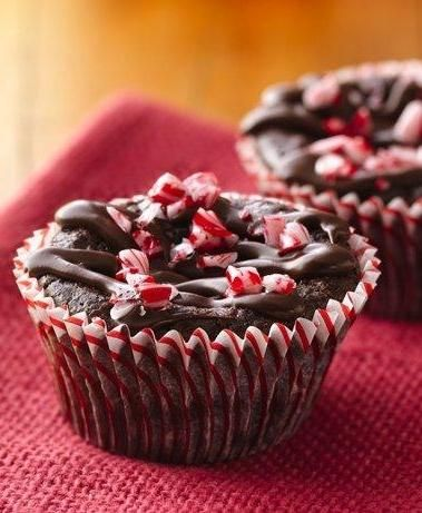 Gluten-Free Caleb's Peppermint Brownie Cakes | Recipe