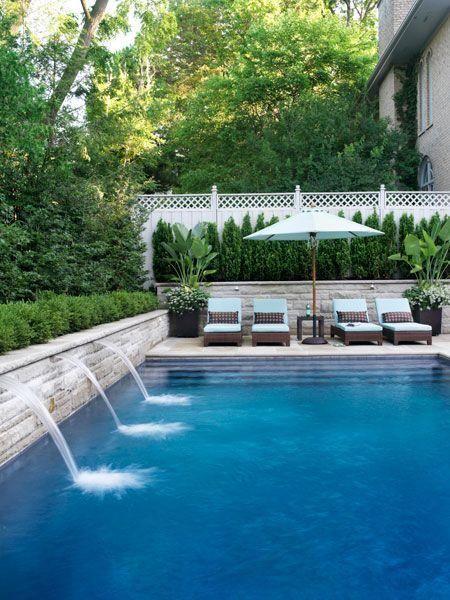 A Waterfall Swimming Pool Soooo Nice Swimwear By Next Pinterest