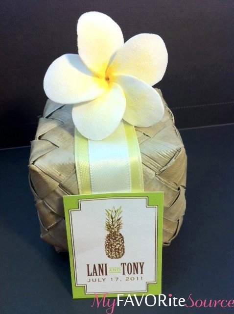hawaiian wedding favor My Tropical Wedding Pinterest