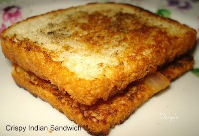 Crispy Indian Sandwich | Recipes - Inspiration India | Pinterest