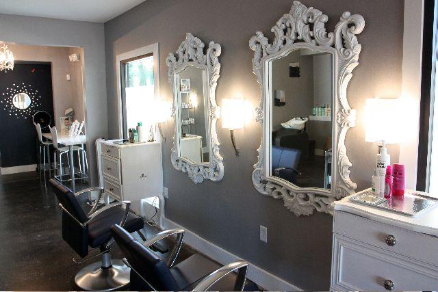 hair salon wall