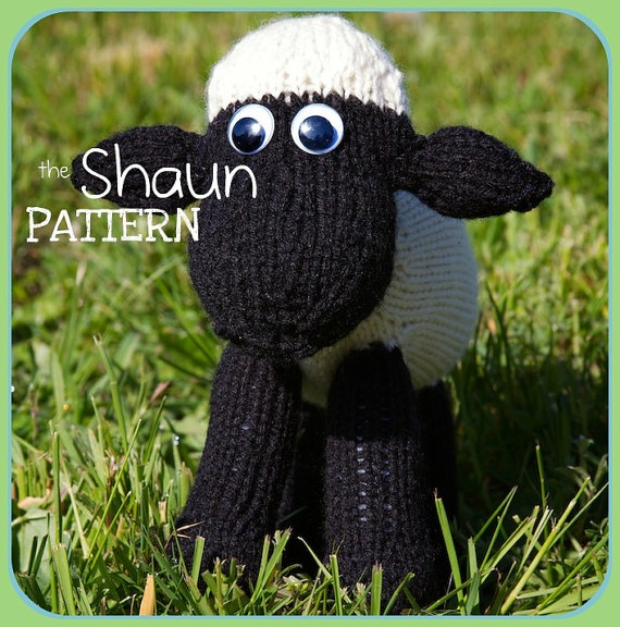 Pattern For Knitted Baby Hats : Shaun the Sheep soft toy PDF pattern Knitting & Crocheting Pinter?