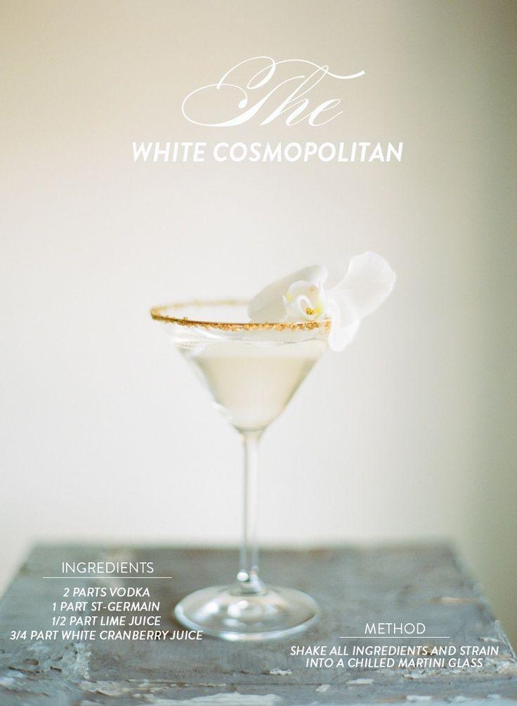 White Cosmopolitan | Food & Drink | Pinterest