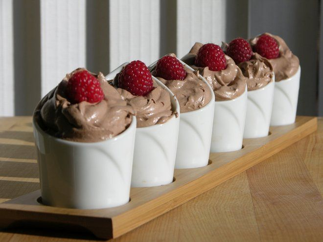 Simple Chocolate Mousse Dessert | Desserts | Pinterest