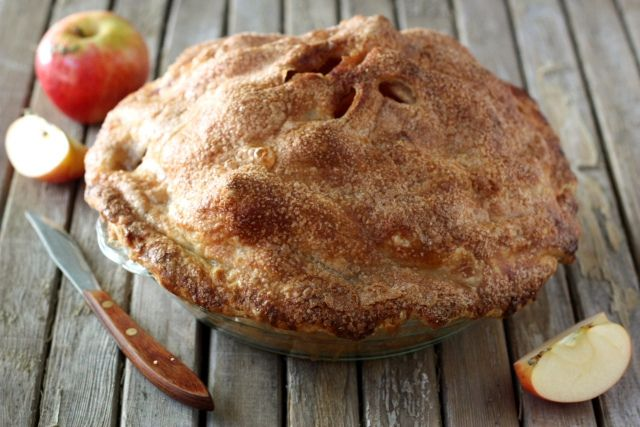 Mile High Apple Pie | Pies & Tarts | Pinterest