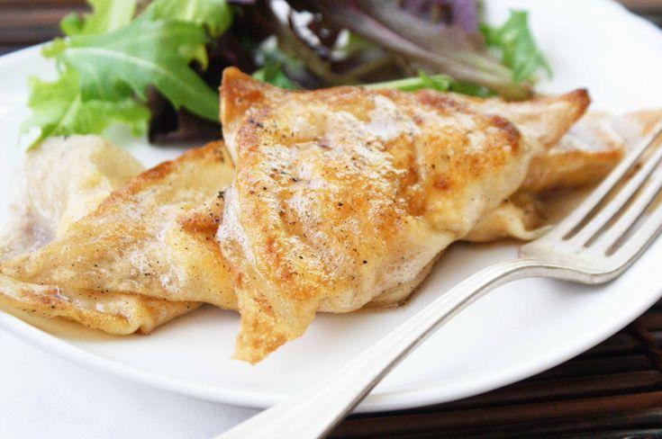 Roasted butternut squash and ricotta ravioli — sounds delish!