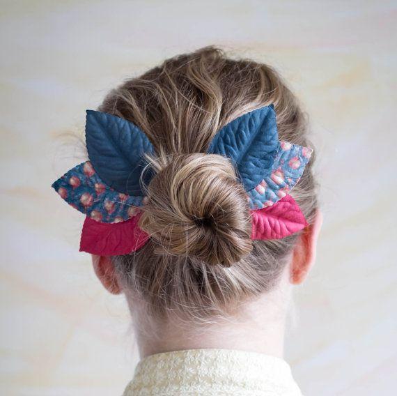 Cute for hair - Elf Ear Cuffs Fairy Wings Woodland Wings by SameSkyWings on Etsy, $5.00