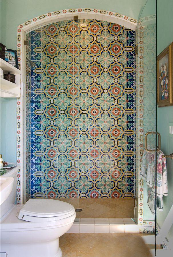 Painting ceramic tile in shower