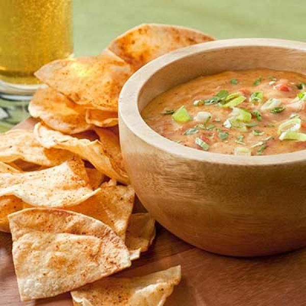 Chili Con Queso | KitchenDaily.com Queso with NO VELVEETA!