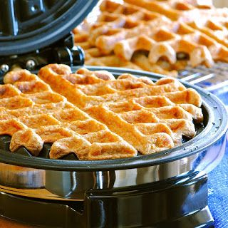 Oat Waffles | Purely Homemade | Pinterest