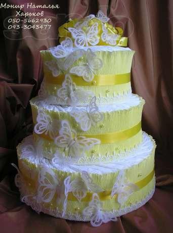 Как сделать торт с подгузников