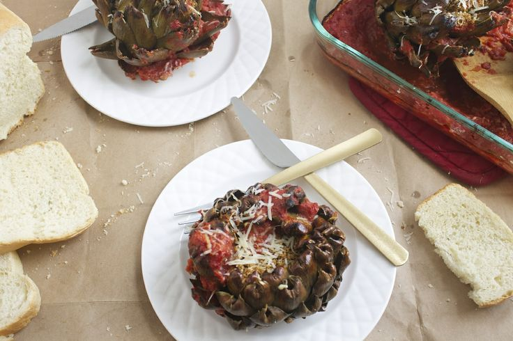 Italian Stuffed Artichokes | Recipe