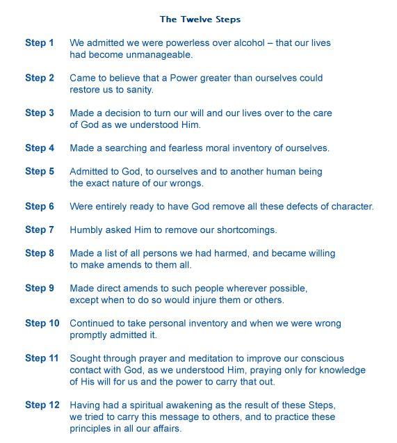 aa step 4 worksheets