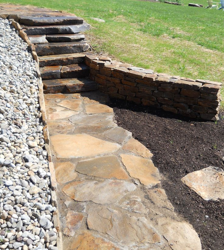 Pin By Starletta Williamson On Flagstone Paths Walkways