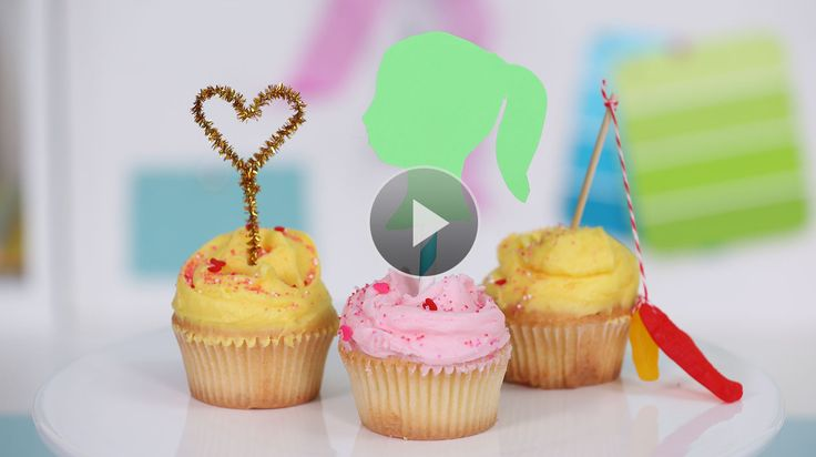 Watch Birthday Party Ideas: 3 Quick Cake Toppers in the Parents Video