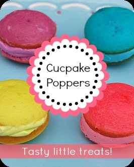 "Cupcake Poppers"" ... YUM! www.somewhatsimple.com"
