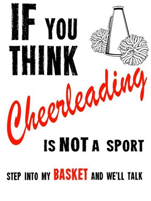 cheerleading is a sport Cheerleading is a physical activity that mixes dance with gymnastics, cheers and stunts it is all about trust and teamwork the purpose of cheerleaders is to carry school spirit and support the teams at competitive sporting events.