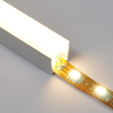 track w diffuser for led strip lights lightupyourlife. Black Bedroom Furniture Sets. Home Design Ideas