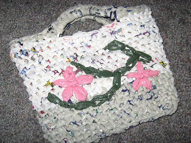 Crochet Plastic Bags Pattern : ... crochet patterns How To Crochet ? PLASTIC GROCERY BAG CROCHET