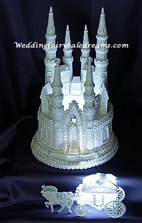 Cinderella Castle Cake Topper6 Lighted