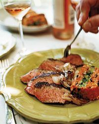 Grilled Steaks with Sweet-Spicy Hoisin Sauce - Wolfgang Puck from Food ...