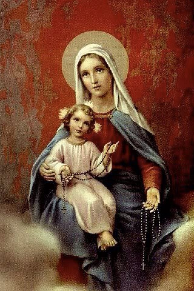 Blessed mother holy holy holy pinterest