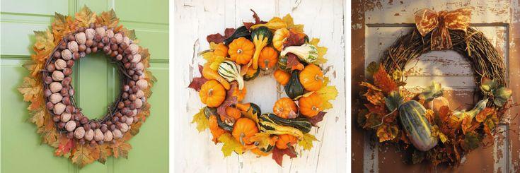 cute fall wreaths