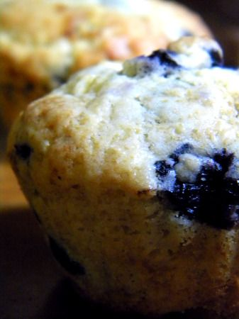 blueberry lime muffins | The Joy of Bread | Pinterest