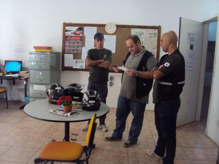 Ronaldo, Bruno e Marcelo (da esquerda para a direita)