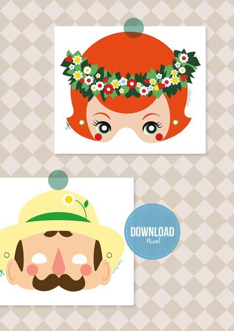 My Grardening Illustration For MoodKids, fredownload!!!MoodKids online Magazine, buiten spelen, DIY, moestuin met kinderen, mme ZsaZsa, gratis download, gratis knipvellen