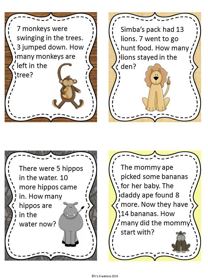 first grade subtraction word problems pdf