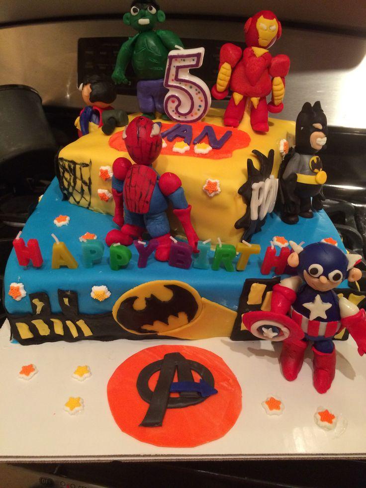 Avengers Cake Ideas Pinterest