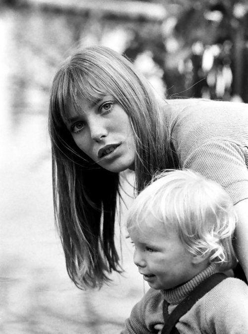 Jane Birkin and Kate