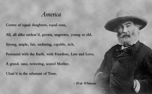 how walt whitman parted from the traditional poetic formalities Walt whitman essays parting from established formalities, walt whitman and william faulkner from the traditional methods of writing poetry.