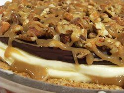 Turtle Ice Cream Pie | Kosher Pie/Tart Recipes | Pinterest