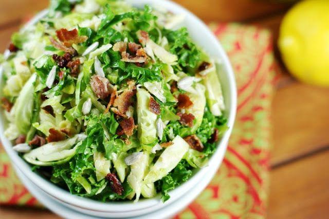 Shredded Brussels Sprouts Salad | Food - Salad | Pinterest