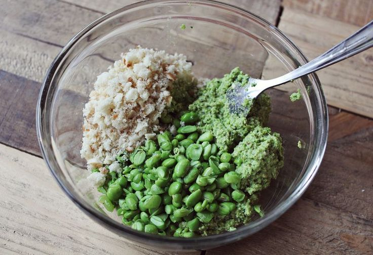 Edamame bean burgers substitute flax egg instead of egg and black ...