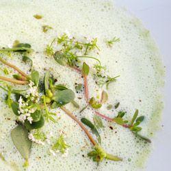 Chilled Cucumber, Purslane, and Buttermilk Soup by Michelle McKenzie ...