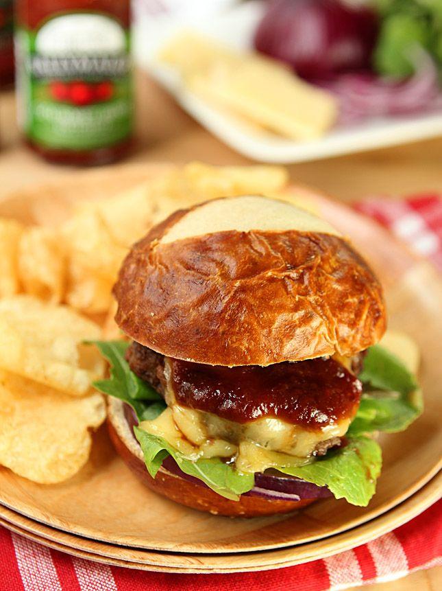 Beef Burger with Ballymaloe Irish Ketchup with Stout | Creative ...