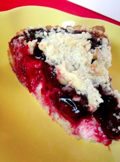 cherry cream cheese coffee cake | things to try | Pinterest